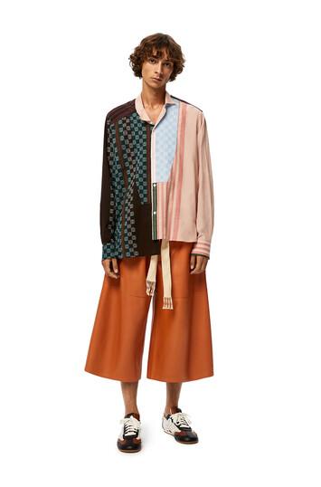 LOEWE Pantalon Corto Coñac front