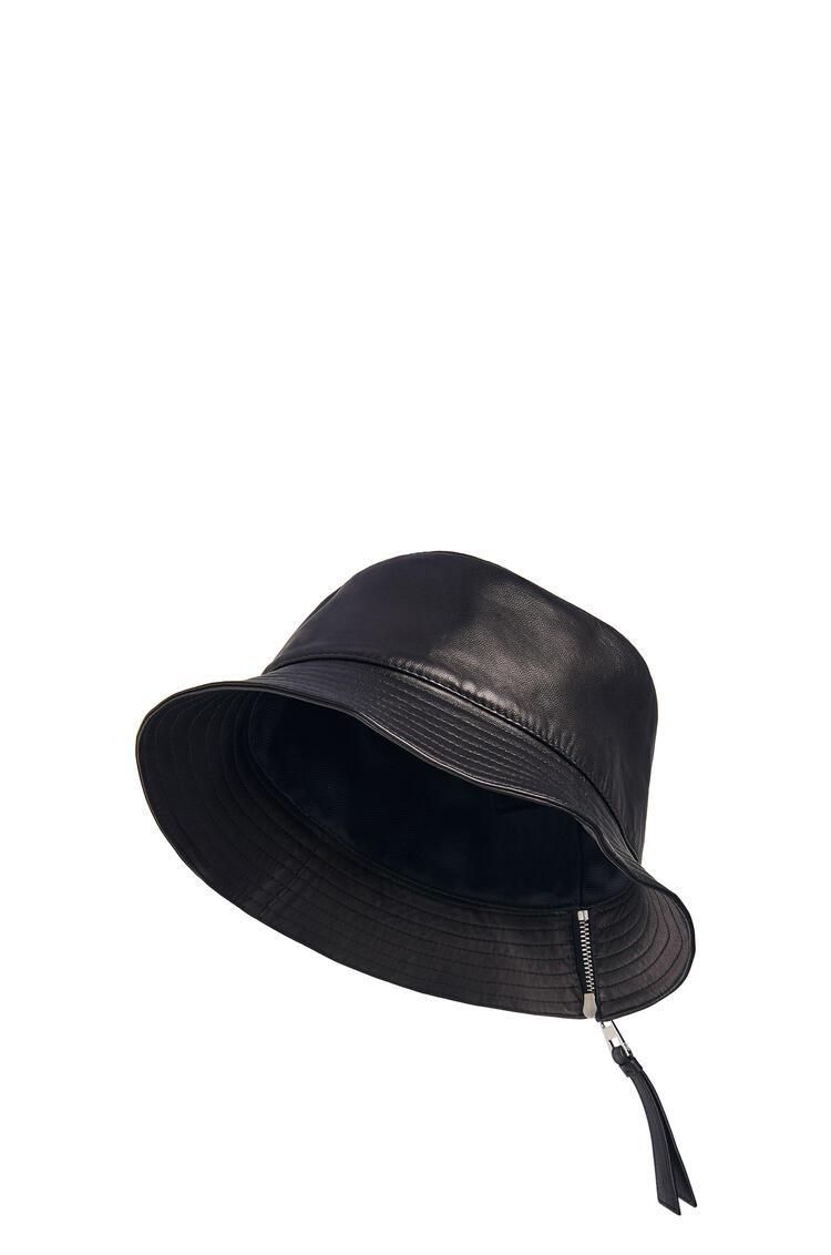 LOEWE Fisherman hat in nappa calfskin 黑色 pdp_rd