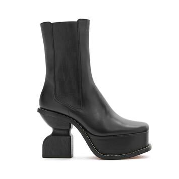 LOEWE Platform Boot 100 黑色 front