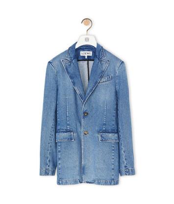 LOEWE Suit Jacket Azul front