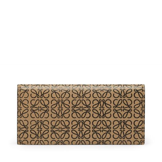 LOEWE Long Horizontal Wallet Mocca/Black front