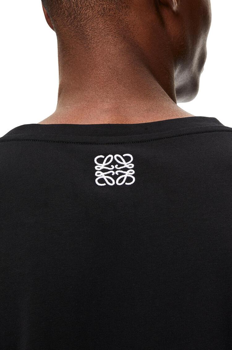 LOEWE L.A. Series T-shirt in cotton Black pdp_rd