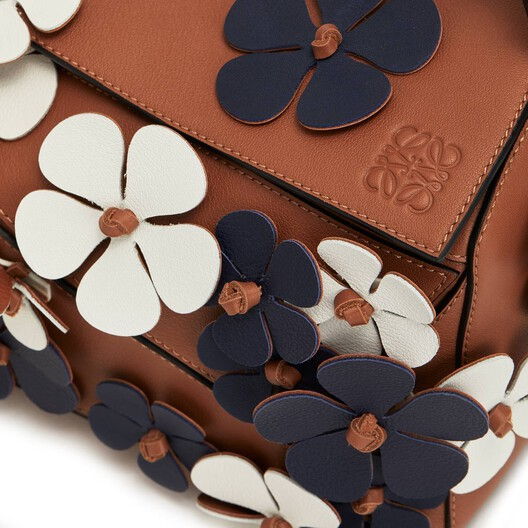 Bolso Puzzle Flores