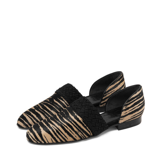 LOEWE Flex Loafer Pony Tiger Flat Estampado Tigre all