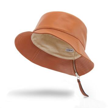 LOEWE Fisherman Hat Tan front