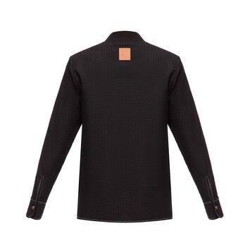 LOEWE Patch Pocket Zip Jacket Negro front