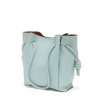 LOEWE Flamenco Knot Tote Small Bag 水绿色 front