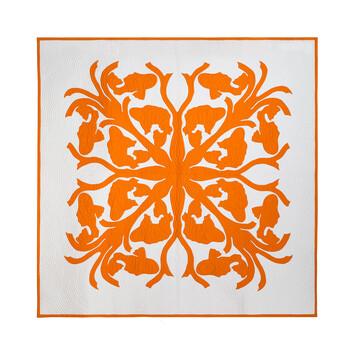 LOEWE 230X230 Blanket Koi Orange front