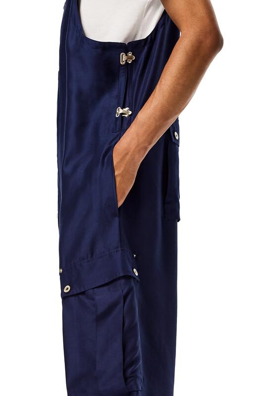 LOEWE Overalls Navy Blue front