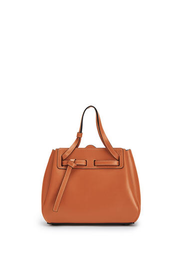 LOEWE Mini Lazo bag in box calfskin Tan pdp_rd