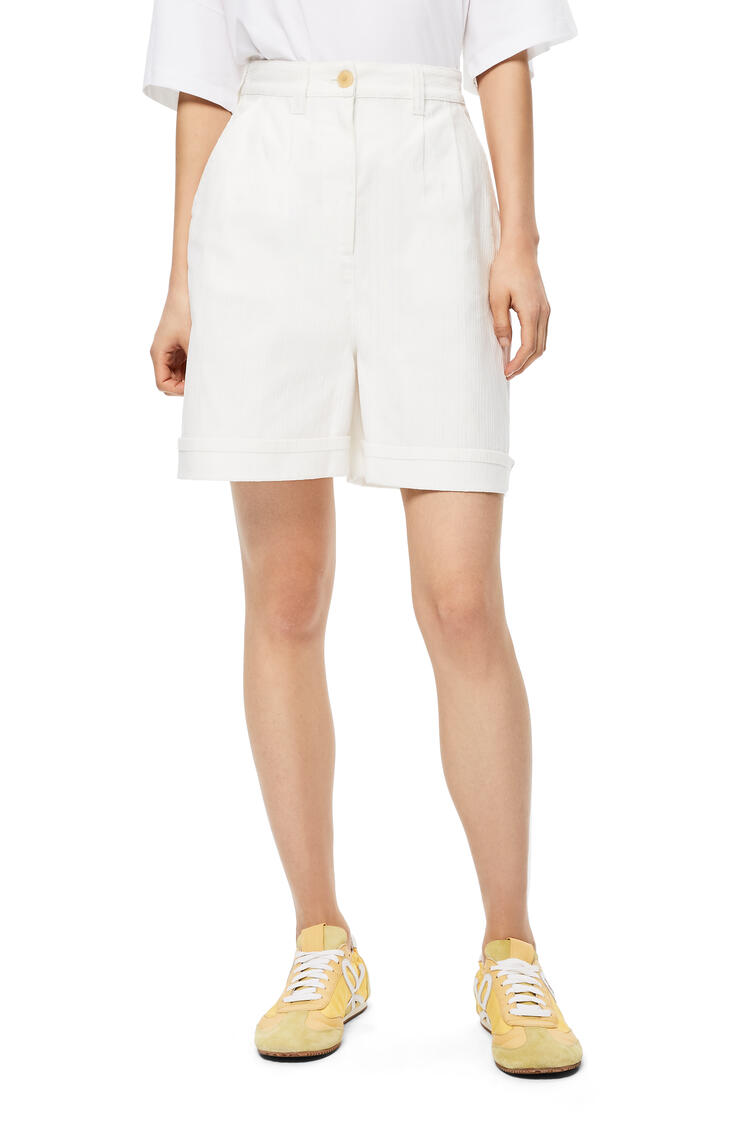 LOEWE Shorts in cotton White pdp_rd