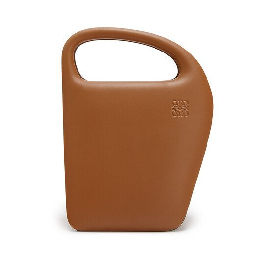 LOEWE 建筑廓形D形手袋 棕色 front
