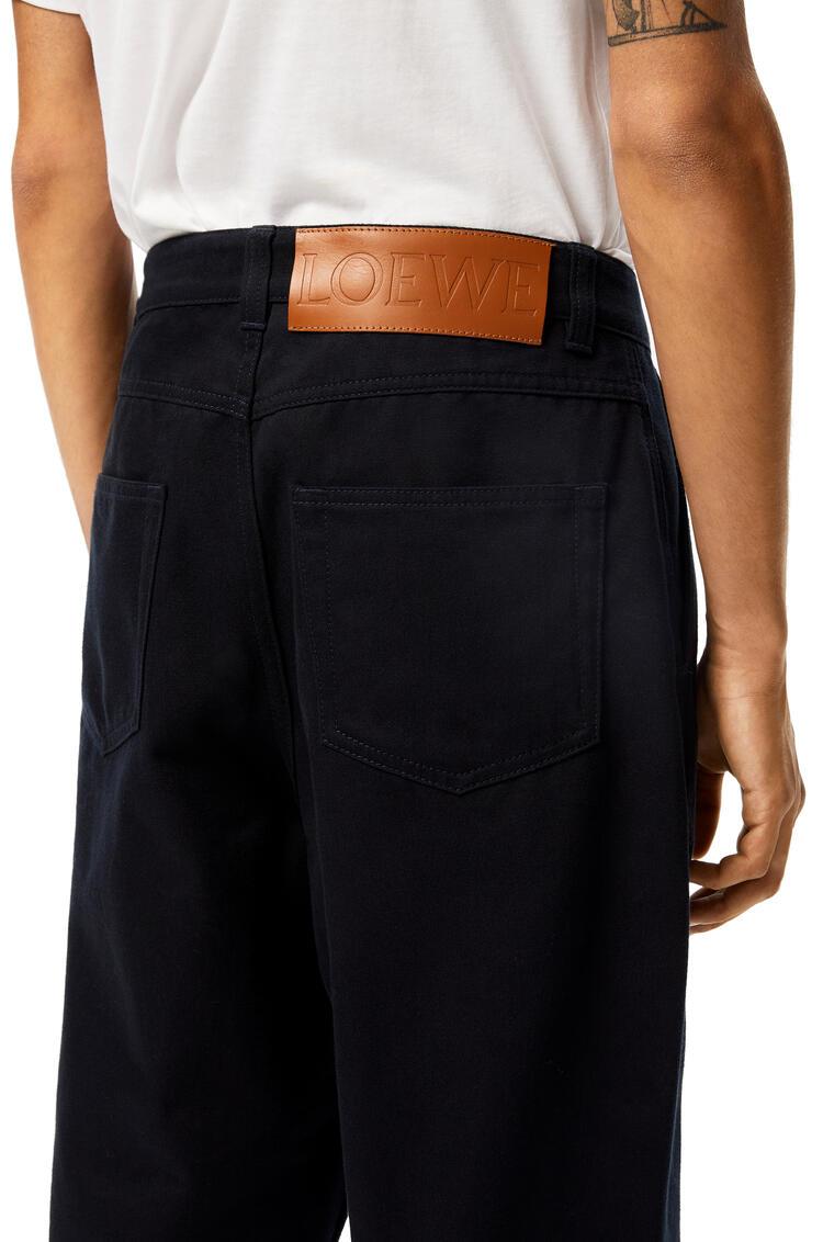 LOEWE Fisherman trousers in cotton Blue pdp_rd
