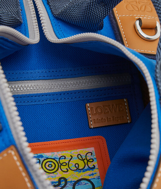 LOEWE Eye/Loewe/Nature Convertible Electric Blue/Navy Blue front