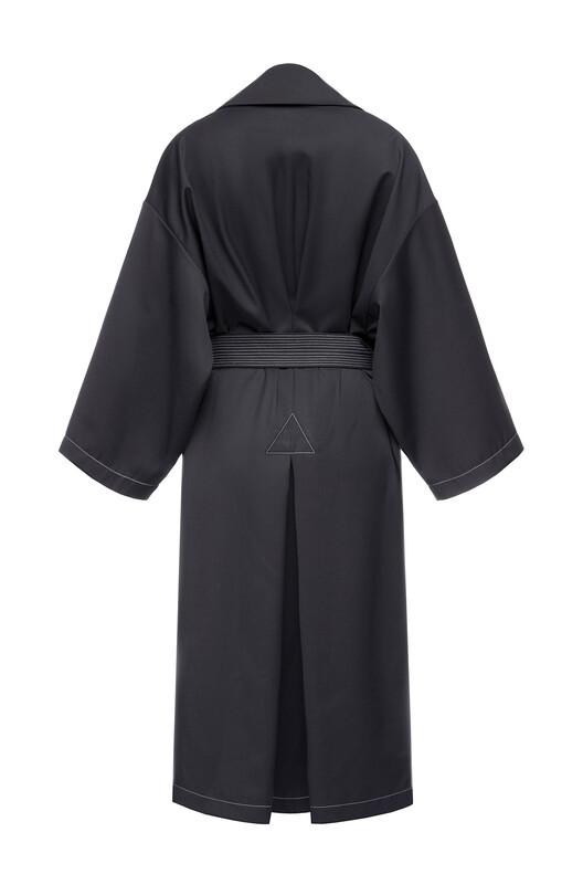 Oversize Belted Coat