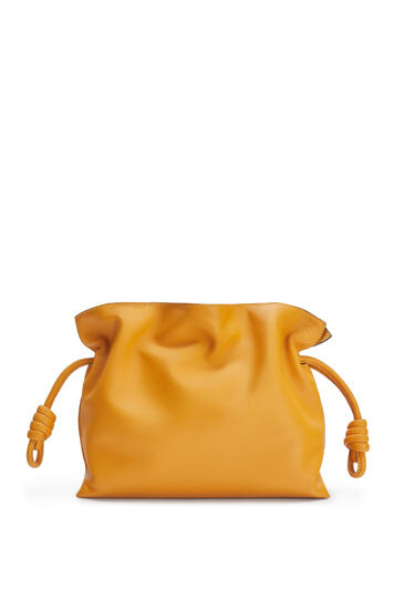 LOEWE Flamenco clutch in nappa calfskin Narcisus Yellow pdp_rd