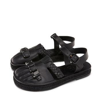 LOEWE Foot Sandal Black front