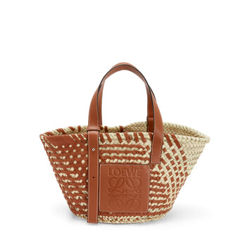 LOEWE Basket Bag Tan/Natural front