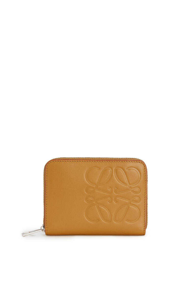 LOEWE 6 card zip wallet in smooth calfskin Honey pdp_rd