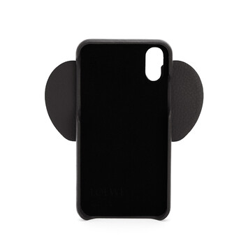 LOEWE Elephant Cover For Iphone X/Xs Black front