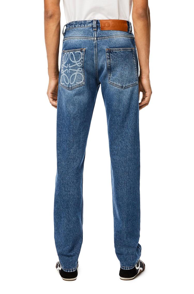 LOEWE 5 Pocket Trousers Blue pdp_rd