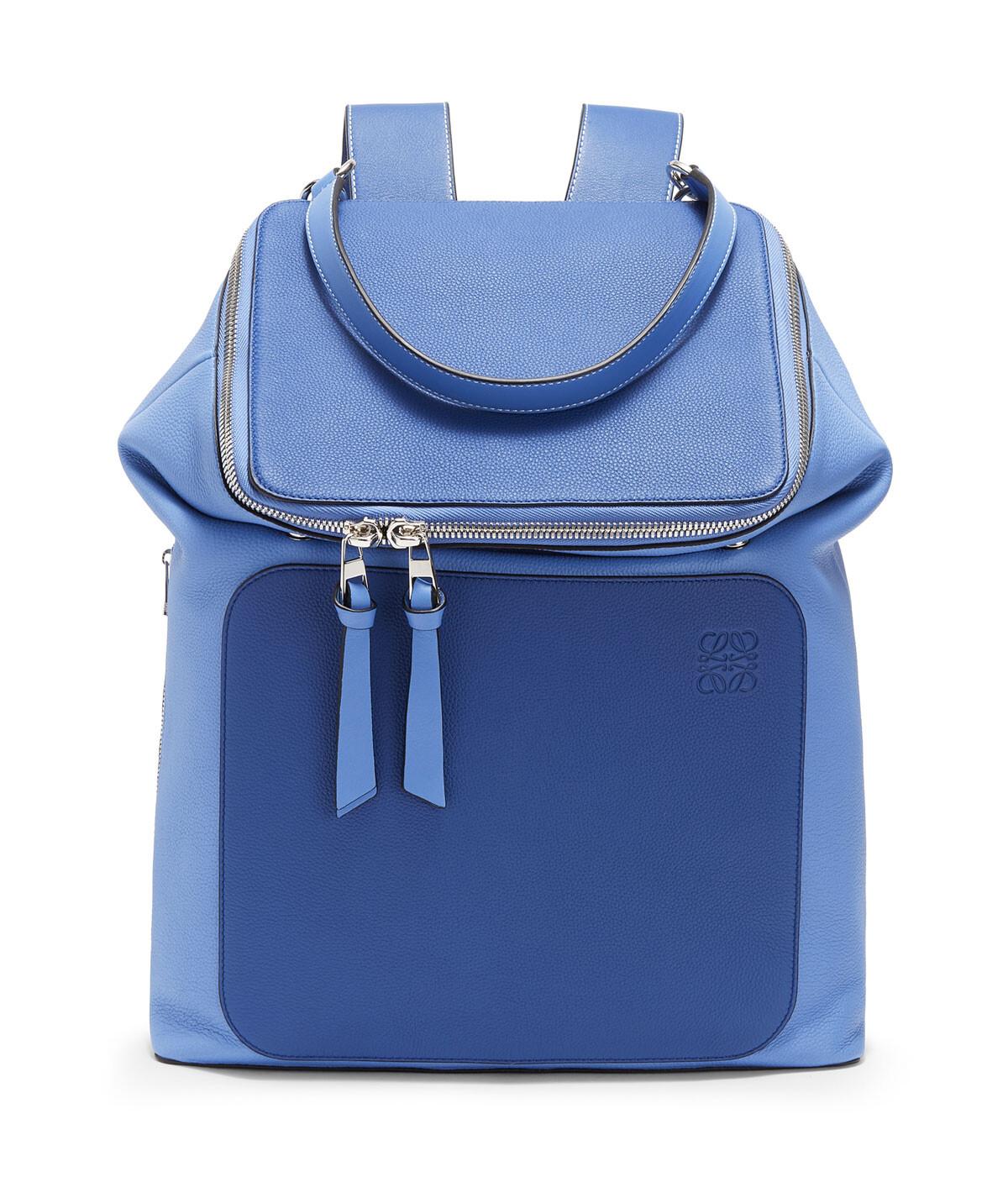 LOEWE Goya Backpack Pacific Blue/Seaside Blue front