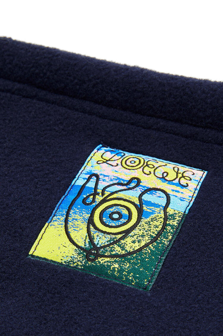 LOEWE Fleece snood in polyester 海軍藍 pdp_rd