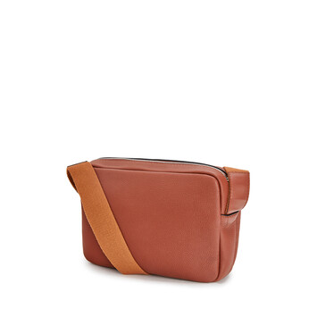 LOEWE Military Messenger Xs Bag Cognac front