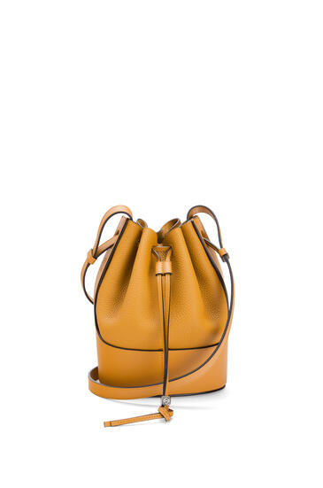 LOEWE Small Balloon bag in grained calfskin Saffron Yellow pdp_rd