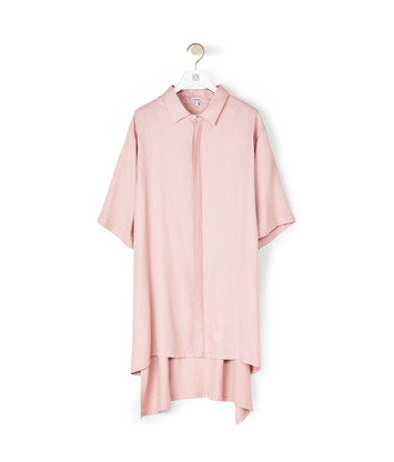 LOEWE Oversize Short Sleeve Shirt ライトピンク front