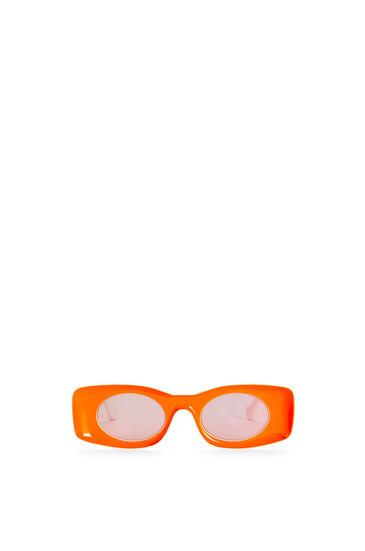 LOEWE Gafas de sol en acetato Naranja Neon pdp_rd