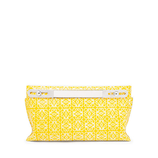 LOEWE Missy Repeat Small Bag Yellow/White front