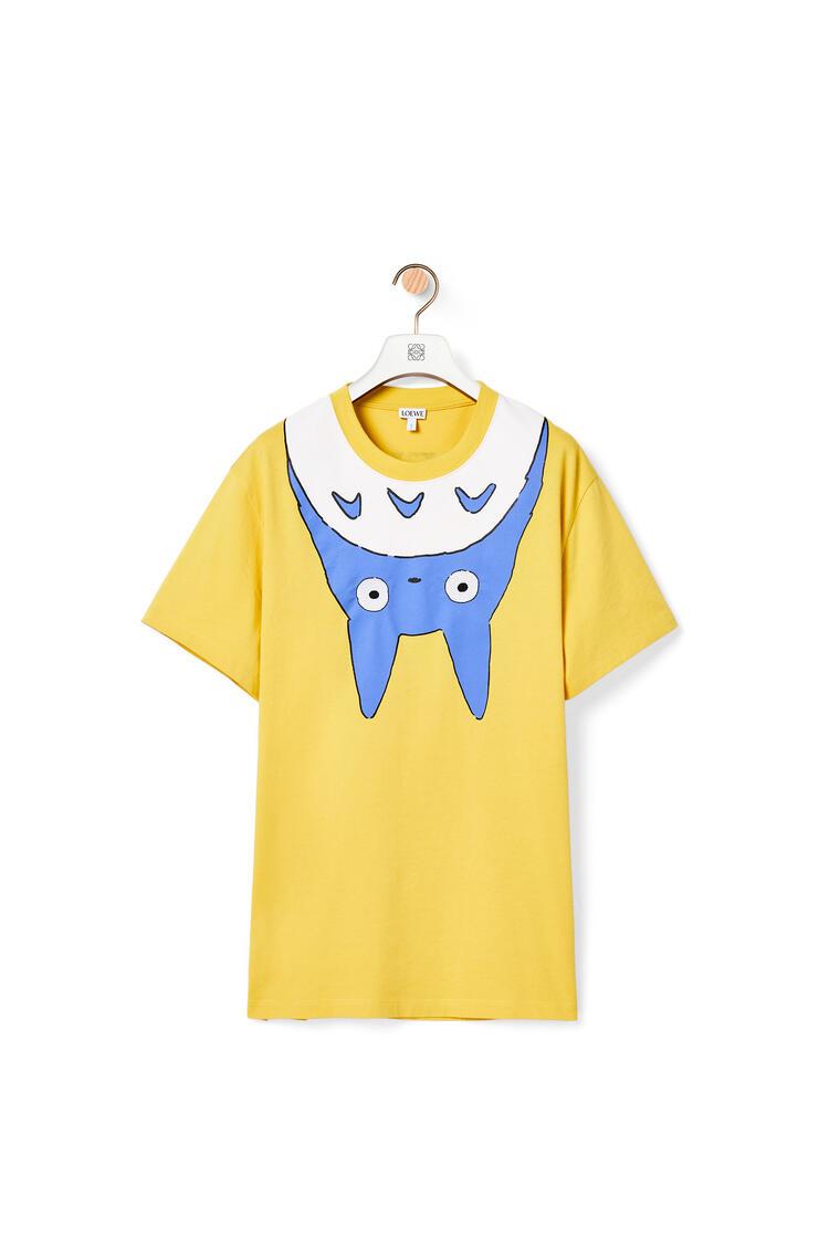 LOEWE 棉质龙猫T恤 黄色 pdp_rd