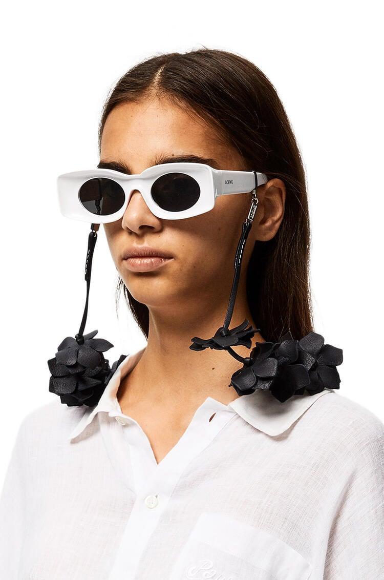 LOEWE Sunglasses strap in classic calfskin Black pdp_rd