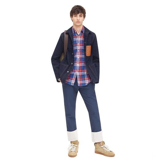 LOEWE Workwear Jacket Indigo all