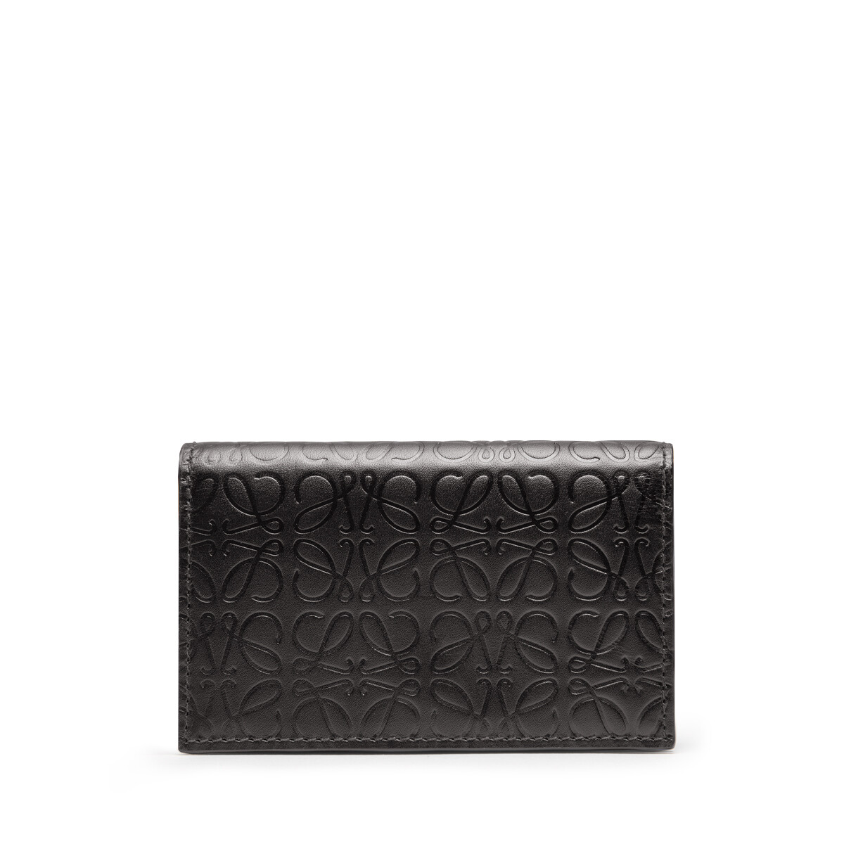 LOEWE Repeat Business Cardholder Black front