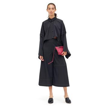 LOEWE Scarf Jacket Negro front