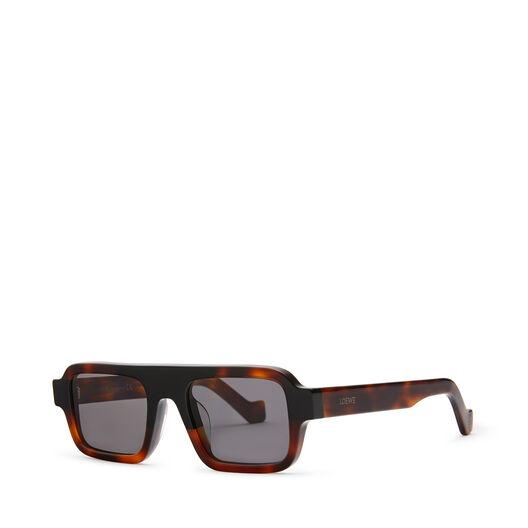 LOEWE Gafas Cuadradas Negro/Habana front