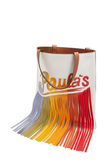 LOEWE Paula's Vertical Tote White/Multicolor front