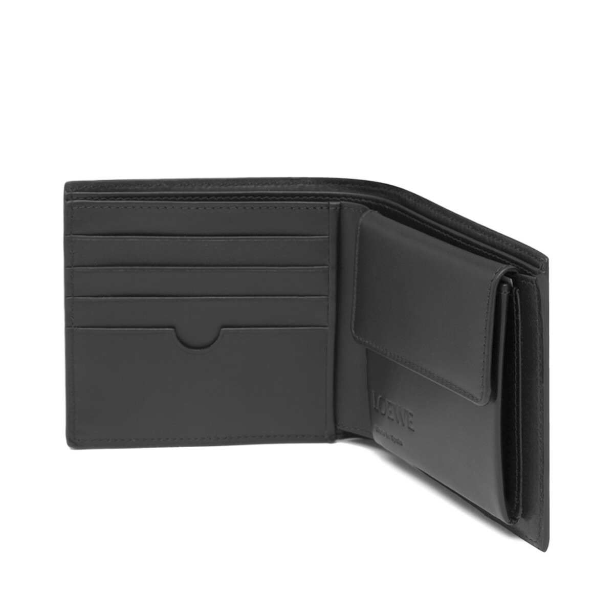 Puzzle Bifold Coin Wallet