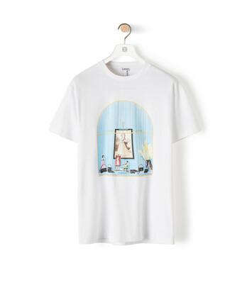 LOEWE Loewe Window T-Shirt 白色 front