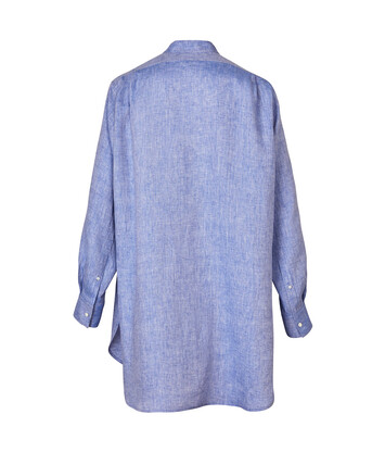 LOEWE Paula Long Shirt Blue front