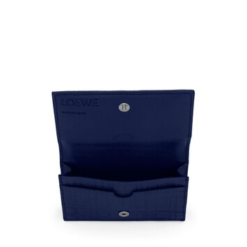LOEWE Linen Business Cardholder Marino front