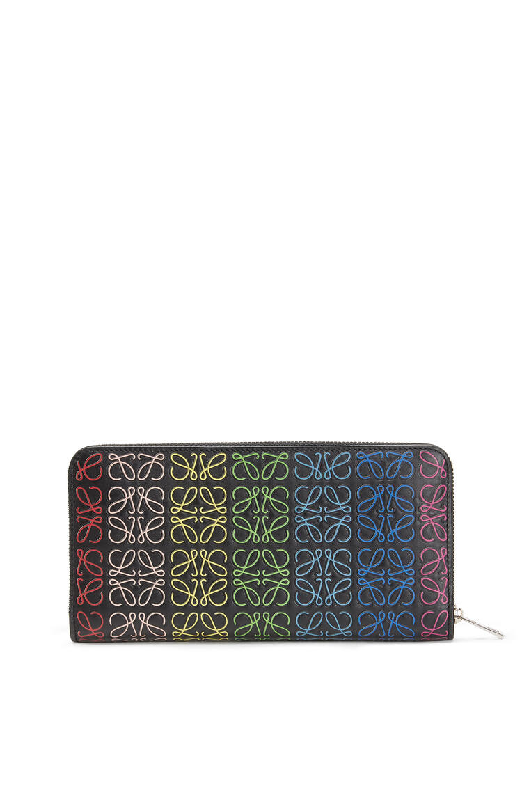 LOEWE REPEAT ZIP AROUND WALLET Black/Multicolor pdp_rd