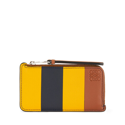 LOEWE Stripes C/C Holder Yellow Mango/Marine front