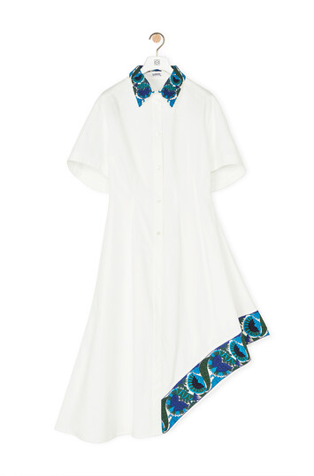 LOEWE Embroidered Shirtdress White front
