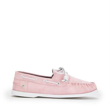 LOEWE Boatshoe Pink front