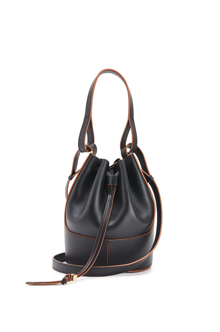 LOEWE Small Balloon bag in nappa calfskin Black pdp_rd