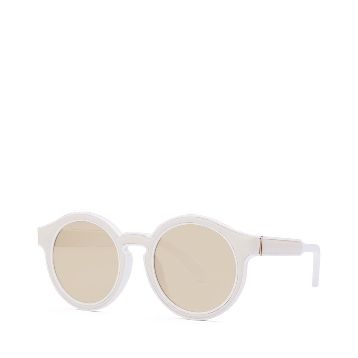 Round Padded Sunglasses