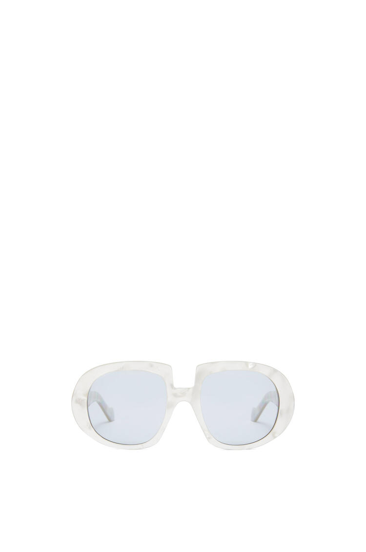 LOEWE ACETATE ANAGRAM SUNGLASSES Grey Pearl/Blue pdp_rd